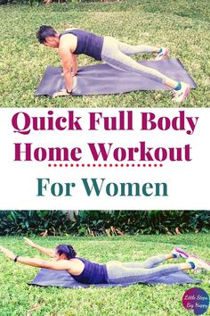 Check out this full body strength training workout that is perfect for beginners. This fat burning exercise routine will tighten and tone your arms, legs, and abs. This FREE printable workout requires no equipment and can be done at home. Get fit by adding this easy and simple workout to your daily routine for women. Beginner Full Body Workout, Gym Workout For Beginners, Abs Workout For Women, Strength Training For Beginners, Strength Training Workouts, Printable Workouts, Free Printable, Easy Workouts, At Home Workouts
