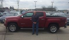 Congratulations and Best Wishes Richard on the purchase of your 2017 GMC CANYON!  We sincerely appreciate your business, Kunes Country Chevrolet Buick GMC and NICK SCHLAEFER.