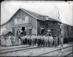 Early Delray packing house | 27 Photos that Show what Palm Beach used to Look Like | Boca Life Magazine