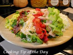 Cooking Tip of the Day: Recipe: Cobb Salad