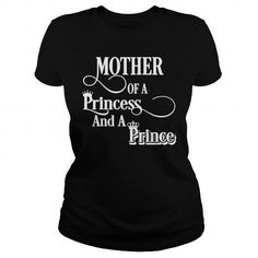 I Love mother princess prince T-Shirts