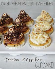 Ferrero-Küsschen-Cupcakes