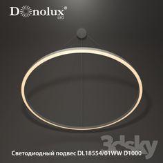 LED suspension DL18554 / 01WW D1000