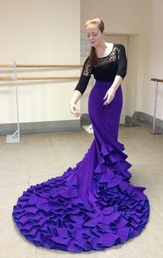 flamenco dance costumes made with Flamenco Dressmaking patterns