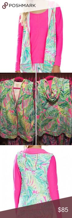 Lilly Pulitzer luxletic vest EEEUC Lilly Pulitzer luxletic vest in tropical storm size XL. In great shape. Bought from another Lilly lover listed in EEEUC and I have never worn it. Show this Lilly vest some love and give it a new home 💗❤️💗 Lilly Pulitzer Jackets & Coats Vests