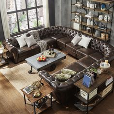 1000 Ideas About U Shaped Sectional On Pinterest