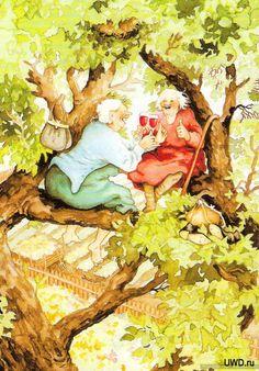 Gallery.ru / Foto # 1 - Imágenes por artista finlandés Inge Look. - SNaDa