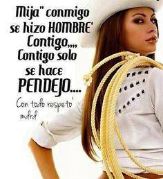 No Confundas Las Cosas Chikita! ;)