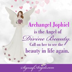 Archangel Jophiel is the Angel to call on for healing a broken heart.   Join our daily email list here http://ow.ly/Of44k