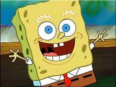 ¡Bob Esponja sin cejas!