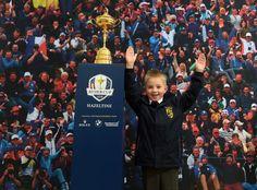 Ryder Cup Pokal zum Anfassen Ryder Cup, Ladies Golf, Blog, Blogging