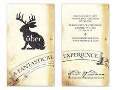 Uber Boutique - Business Card Design Inspiration | Card Nerd