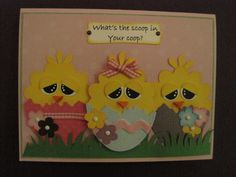 """What""""s new in your Coop by 1crzystamper - Cards and Paper Crafts at Splitcoaststampers"""