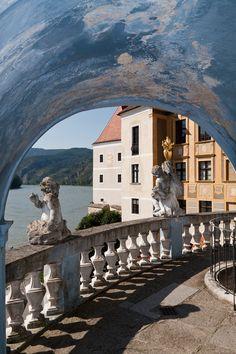 Durnstein, Austria  (by schnupus) - http://allthingseurope.tumblr.com/post/45993956953
