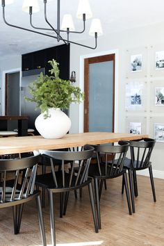 49 best black dining chairs images kitchen dining dinning table rh pinterest com