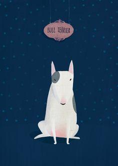 bull terrier from Postallove