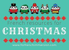 French Christmas Resources – check out this list of Christmas-themed resources for your French classroom. Great for French Immersion and Core French. Ways Of Learning, Learning Process, Kids Learning, How To Speak French, Learn French, Study French, Core French, French Flashcards, French Course