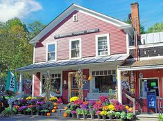 Color Me Country ~ South Woodstock Country Store ~ Windsor County, VT