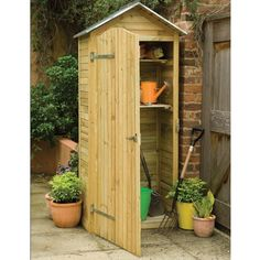 Our selection of wooden garden storage units is superb; we have a wonderful collection of styles and designs to choose from. Take a look at our wooden garden storage today for free delivery to most UK postcodes. Garden Tool Shed, Garden Tool Storage, Shed Storage, Garden Sheds, Storage Containers, Small Storage, Storage Boxes, Hidden Storage, Extra Storage