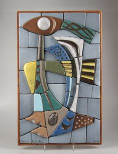 Artentique: Frans Tuinstra mozaiek