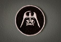 Darth Vader  Star Wars Embroidered Ironon Patch by OKsmalls, $5.00
