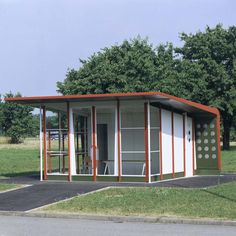 Vitra Campus, Petrol Station / Jean Prouvé 1953