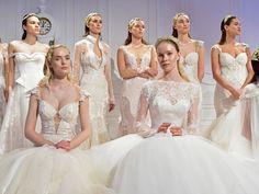 Bridal Week: Das sind die 7 schönsten Brautkleid-Trends für 2017