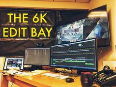 The 6K Premiere Pro edit bayhttp://vashivisuals.com/6-below-editing-in-6k/ #filmmaking #6K #PremierePro #Adobe #filmediting #postproduction