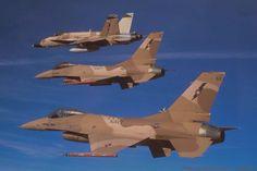 NSAWC F-16's and F-18