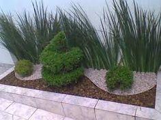 Resultado de imagen para jardim pequeno de canto de muro