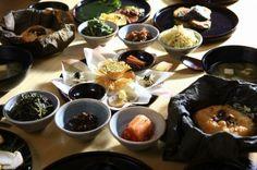 temple food in Korea..