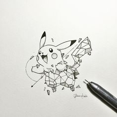 """56.9k Likes, 343 Comments - K E R B Y   R Ø S A N E S (@kerbyrosanes) on Instagram: """"Here's Pikachu to brighten up the day! ⚡️"""""""