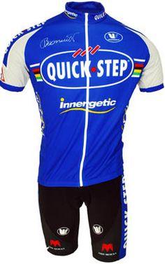 2007 Quickstep World Champion Boonen FZ Jersey - procyclegear.com