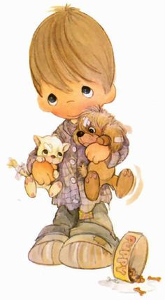 Precious Moments - Bless are the Peacemakers Precious Moments Coloring Pages, Precious Moments Quotes, Precious Moments Figurines, Cute Images, Cute Pictures, Comic Pictures, Sarah Kay, Tatty Teddy, Illustrations