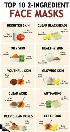Clear Skin Face Mask, Face Skin Care, Diy Skin Care, Face Face, Natural Face Masks, Natural Facial, Skin Mask, Skin Care Masks, Face Mask Pores