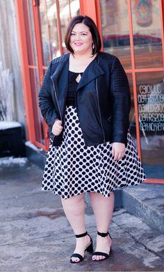 Gwynnie Bee member @emilyjoanho in the @IGIGI  Morgan Dress