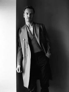 Michael Fassbender for 'Modern Weekly' Magazine  (2017) - by Shayne Laverdiere