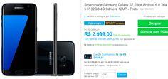 "Smartphone Samsung Galaxy S7 Edge Android 6.0 Tela 5.5"" 32GB 4G Câmera 12MP >"