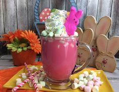 Peeps Hot Chocolate - My Thoughts, Ideas, and Ramblings - http://mythoughtsideasandramblings.com/peeps-hot-chocolate/