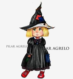 girl with cute black dress - art prints of my original art. Cute Black Dress, Red Boots, Cute Illustration, Vampires, Art Studios, Cute Art, Wall Art Decor, Skulls, Monsters