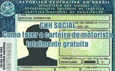 Como fazer a CNH Social gratuita passo a passo #cnh #carteirahabilitação #dicas #grátis #gratuito #comofazer