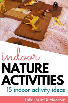 These 15 nature play and activity ideas will help foster an appreciation and excitement about nature in toddlers, preschoolers, and young children. Forest School Activities, Sensory Activities Toddlers, Nature Activities, Outdoor Activities For Kids, Outdoor Learning, Fun Activities, Outdoor Scavenger Hunts, Rainy Day Fun, Inspired Learning
