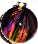 Add drops of acrylic paint into clear ornaments and shake/swirl (marthawho.com)