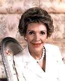 Nancy Reagan...America's mom