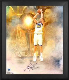 Klay Thompson Golden State Warriors Framed Autographed 20