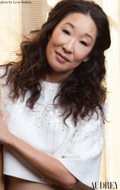 Sandra Oh featured on the cover of Audrey Magazine summer 2014! See more at audreymagazine.com