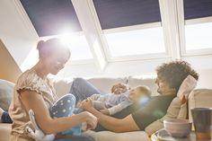 Van új a tető alatt! - Farm Tüzép   #VELUX #FarmTüzép Brochures, Children, Ceiling, Windows, Young Children, Boys, Kids, Child, Kids Part