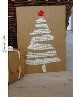 Carte de Noël dechirer