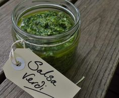 Recipe Salsa Verde by Gary Mehigan - Recipe of category Sauces, dips & spreads