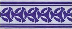 Renaissance & Celtic Trim and Jacquard Ribbon by celtictrims Sewing Trim, Ancient Greek, Renaissance, Celtic, Etsy Seller, Purple, Fabric, Appliques, Ribbons